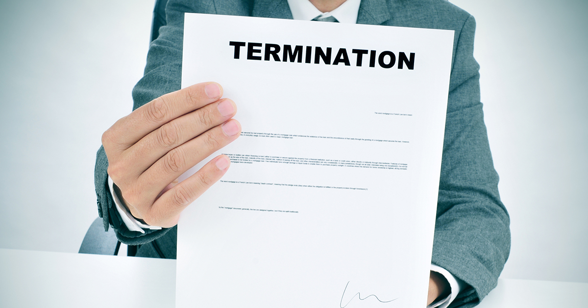 Termination for cause